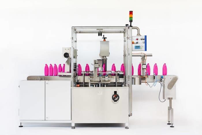 LOGO_Bottle orienting machine