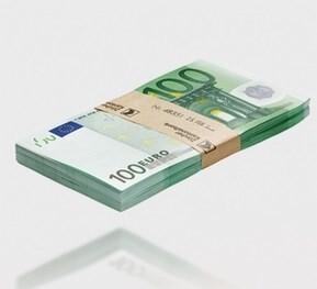 LOGO_Anwendungsbeispiel: Zählen, stapeln und bündeln von Banknoten