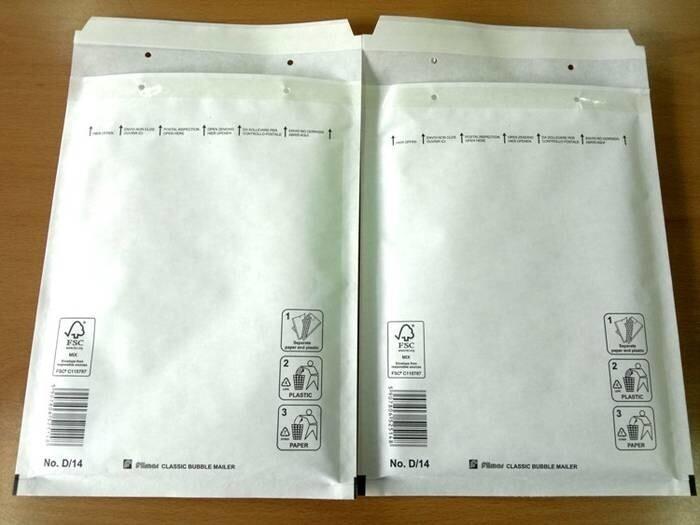LOGO_FILMAR® Classic bubble mailers