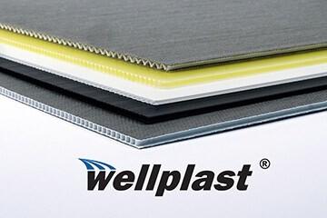 LOGO_Wellplast® – Corrugated polypropylene with unique characteristics