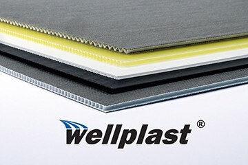 LOGO_Wellplast® – Corrugated polypropylene with unique characteristics
