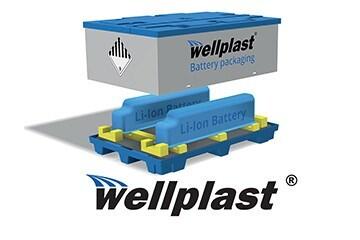 LOGO_Wellplast® Battery packaging and dangerous goods