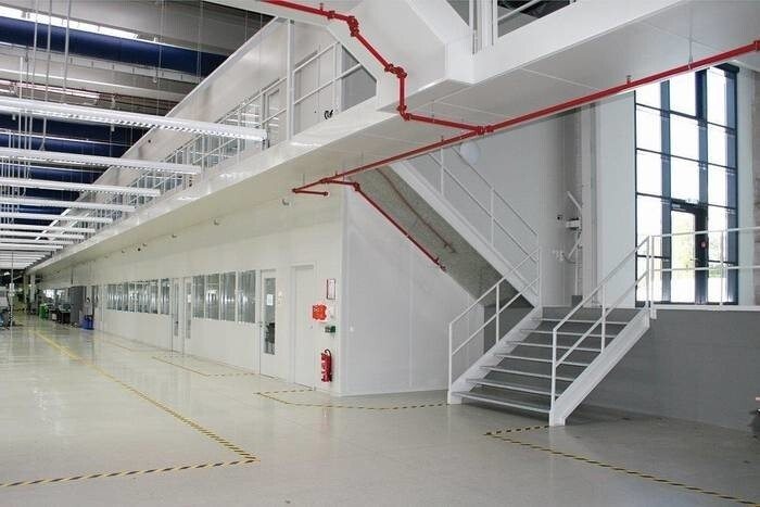 LOGO_Trennwandsysteme / Hallenbüros
