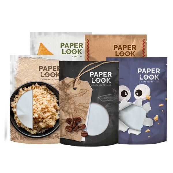 LOGO_PAPER LOOK - Flexible Verpackungen natürlich verpackt
