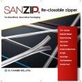 LOGO_SANZIP® Re-closable Zipper