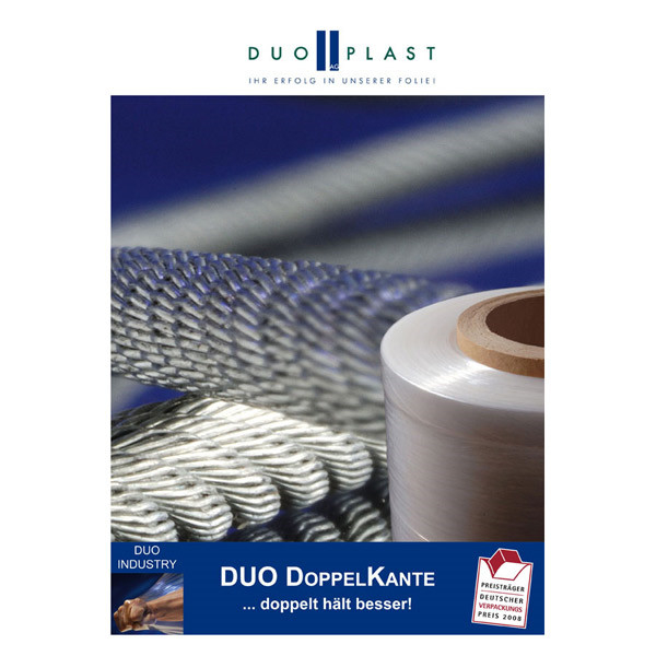 LOGO_DDK – the stretch film with the double edge for highest transport security