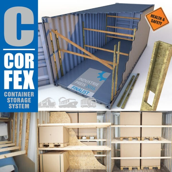 LOGO_CORFEX - Container store system