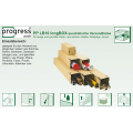 "LOGO_progressPACK® longBOX ""Premium"" Universalversandhülse"