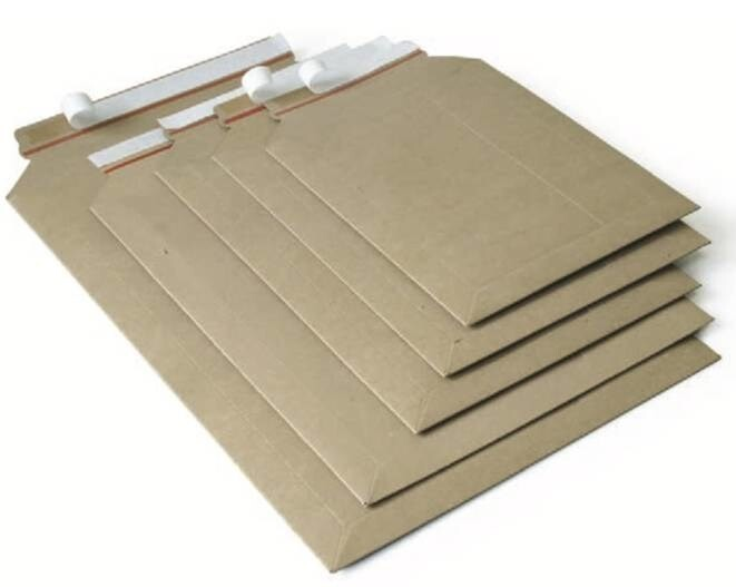 LOGO_PS.2... - Fullboard mailers, brown (individually printable)