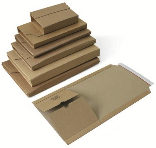 LOGO_PS.3... - Universal corrugated board packaging, brown (individually printabel)