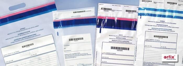 LOGO_Sicherheitstaschen / safebags / Versandtaschen