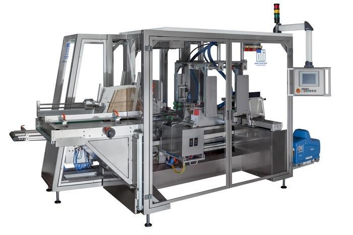 LOGO_Vollautomatische Endverpackungsanlage oli 310 mit olimat 3D - Side Loading