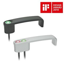 "LOGO_Cabinet ""U"" Handles with Power Switching Function GN 422"