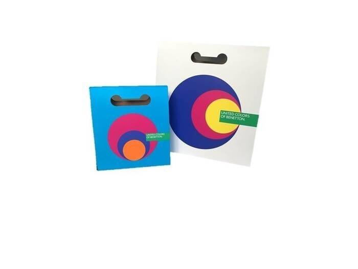 LOGO_Benetton cardboard bags