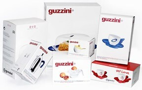 LOGO_Folding boxes for Guzzini kitchenware