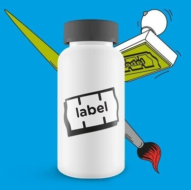 LOGO_Self-adhesive labels