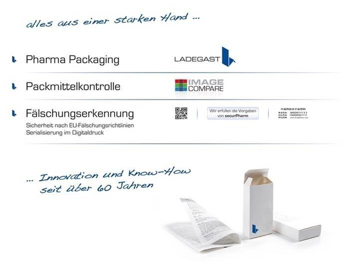 """LOGO_""""Alles aus einer starken Hand"""" - Ladegast Packaging Solutions"""