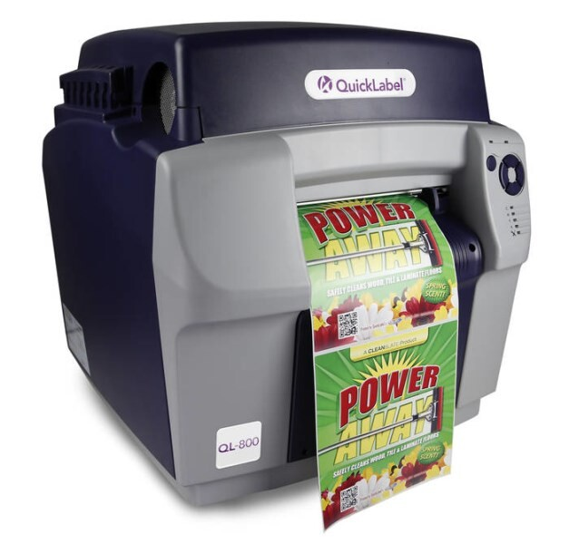 LOGO_Digital inkjet label printer, QL-800 - Advanced Wide Format Label Printer in high speed