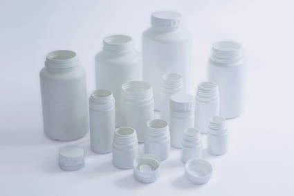 LOGO_Bottles (30 ml – 1250 ml) with tamper evident, threaded closures for tablets, capsules and powder