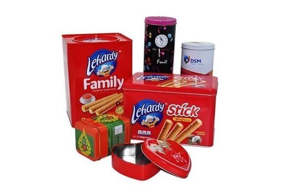 LOGO_rectangular customized tin box