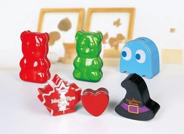 LOGO_Irregular shape tin box