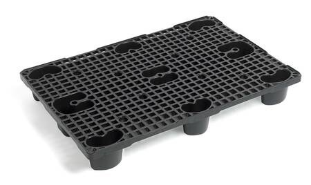LOGO_SF800H – nestable plastic pallet for retail industry