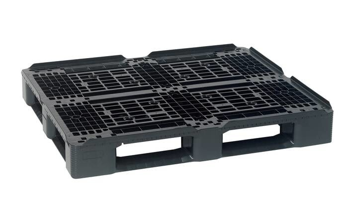 LOGO_Smart Monoblock Euro pallet series made of recyclable plastic SF800PES + SF1000PES