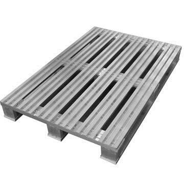 LOGO_Aluminum Pallet - Model: Euro