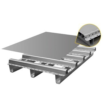 LOGO_Galvanized Steel Pallet – Model: Extra Cargo
