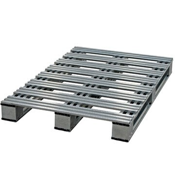 LOGO_Galvanized Steel Pallet – Model: Universal