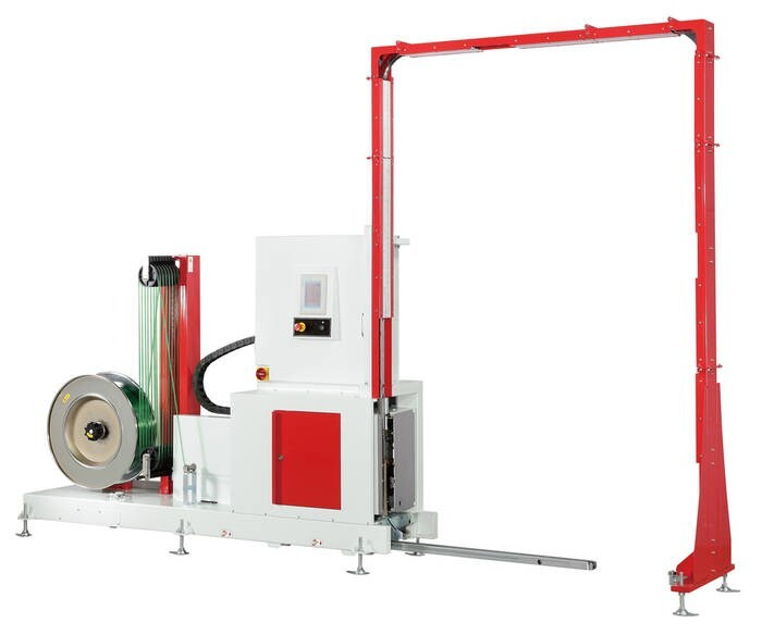 LOGO_Pollux III TP-733VLM Fully Automatic Pallet Strapping Machine for Vertical Applications
