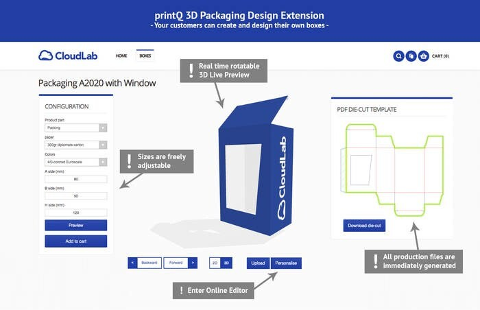 LOGO_3D Verpackungsdesign-Extension