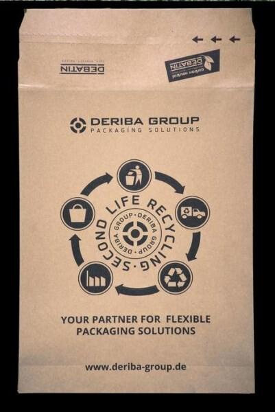 LOGO_DEBAPOST™ Second life paper mailing bags