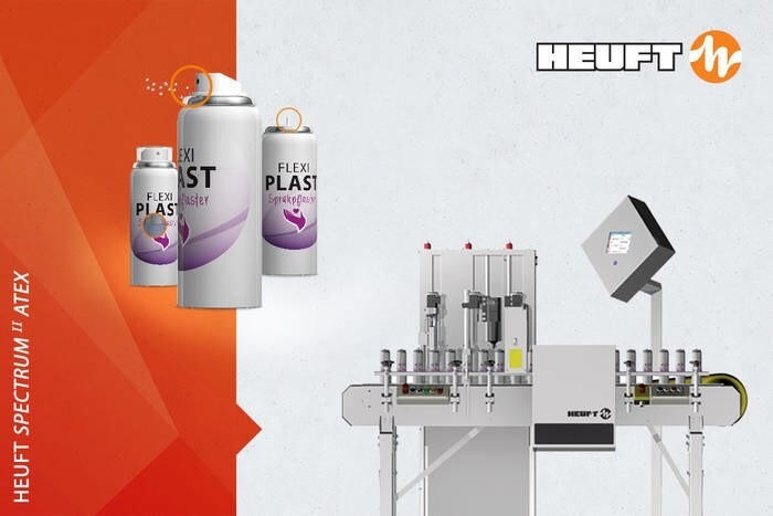 LOGO_HEUFT SPECTRUM II ATEX spray can leakage check