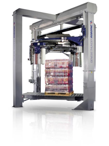 LOGO_GENESIS THUNDER - Vertical stretch wrapping machine