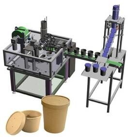 LOGO_Automatic rotary machine for packing in cups
