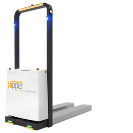 LOGO_Nipper Pallettruck - The driverless transport system for pallet loads up to 1.000 kg