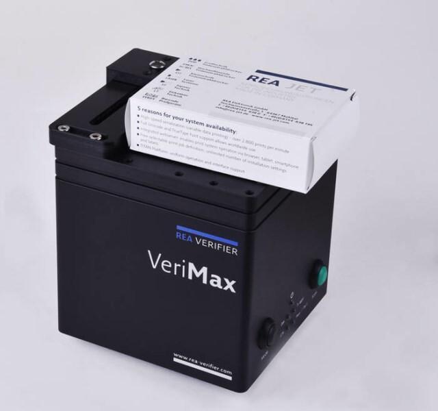 LOGO_REA VeriMax  Prüfgerät für die Qualitätsprüfung von 2D Matrixcodes und Barcodes