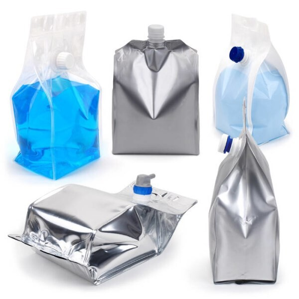 LOGO_Flexible packaging for liquid, semi-pasty or viscous product.