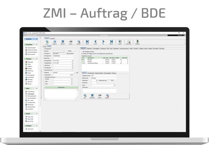 LOGO_ZMI - Auftrag/BDE