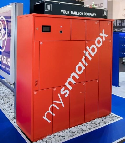 LOGO_Parcel compartment system mysmartbox