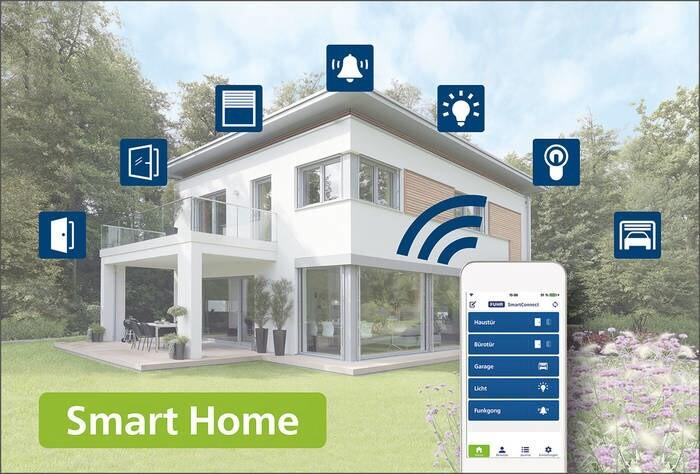 LOGO_SmartDoor - Modern locking technology for SmartHome applications