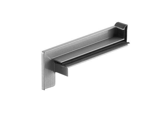 LOGO_RAG² K - Aluminium sliding end piece for clinker brickwork and exposed facades