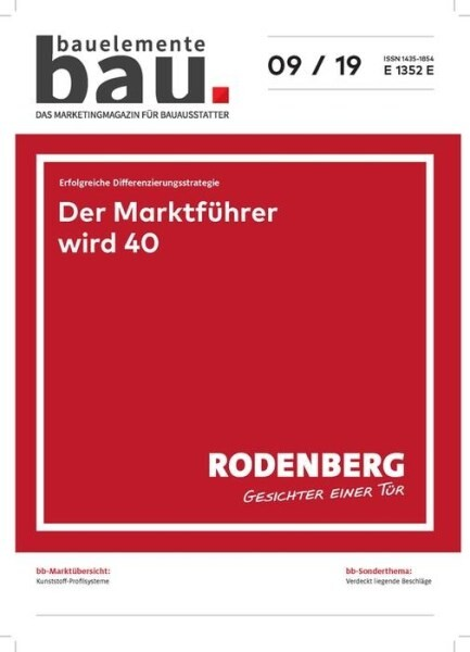 LOGO_Bauelemente Bau - Ausgabe 09/2019