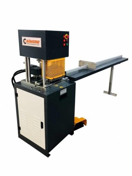 LOGO_HD X 200 CW Machine for cutting ang hole punching in reinforcement sheet iron