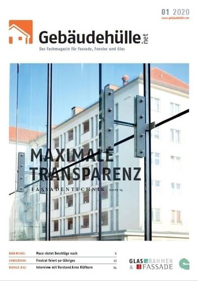 LOGO_Das Fachmagazin für Fassade, Fenster und Glas