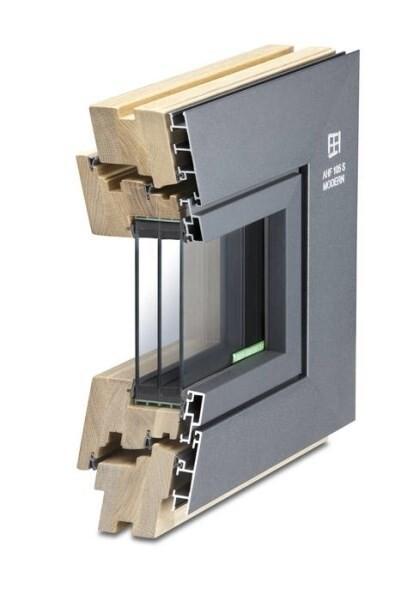 LOGO_Aluminium-wood window AHF 105 S modern