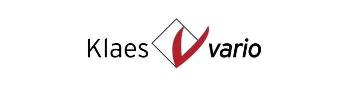 LOGO_Klaes vario. The flexible entry-level solution.