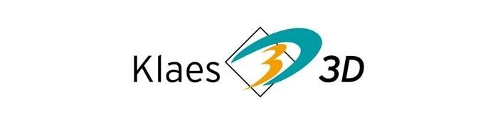LOGO_Klaes 3D. The complete solution for conservatories and facades for all material and profile types.
