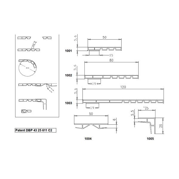 LOGO_Hohlkammerleisten Vario - System profile
